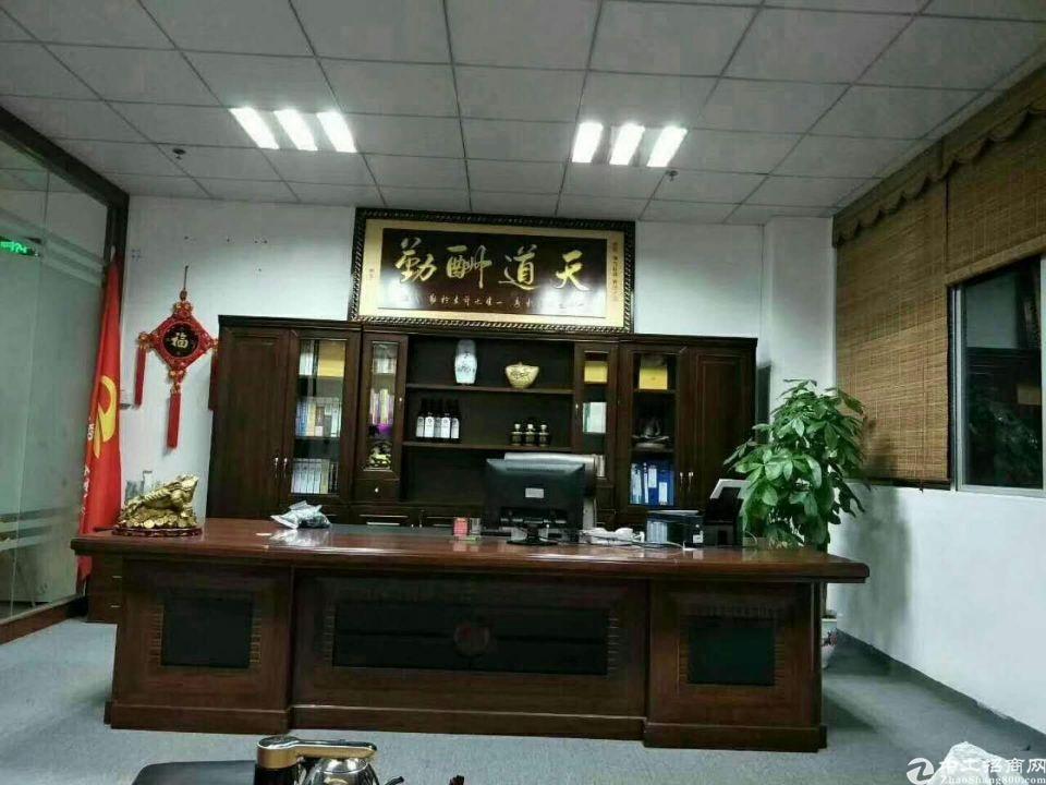 松岗高新产业园原房东三楼整层1500平精装厂房出租-图5