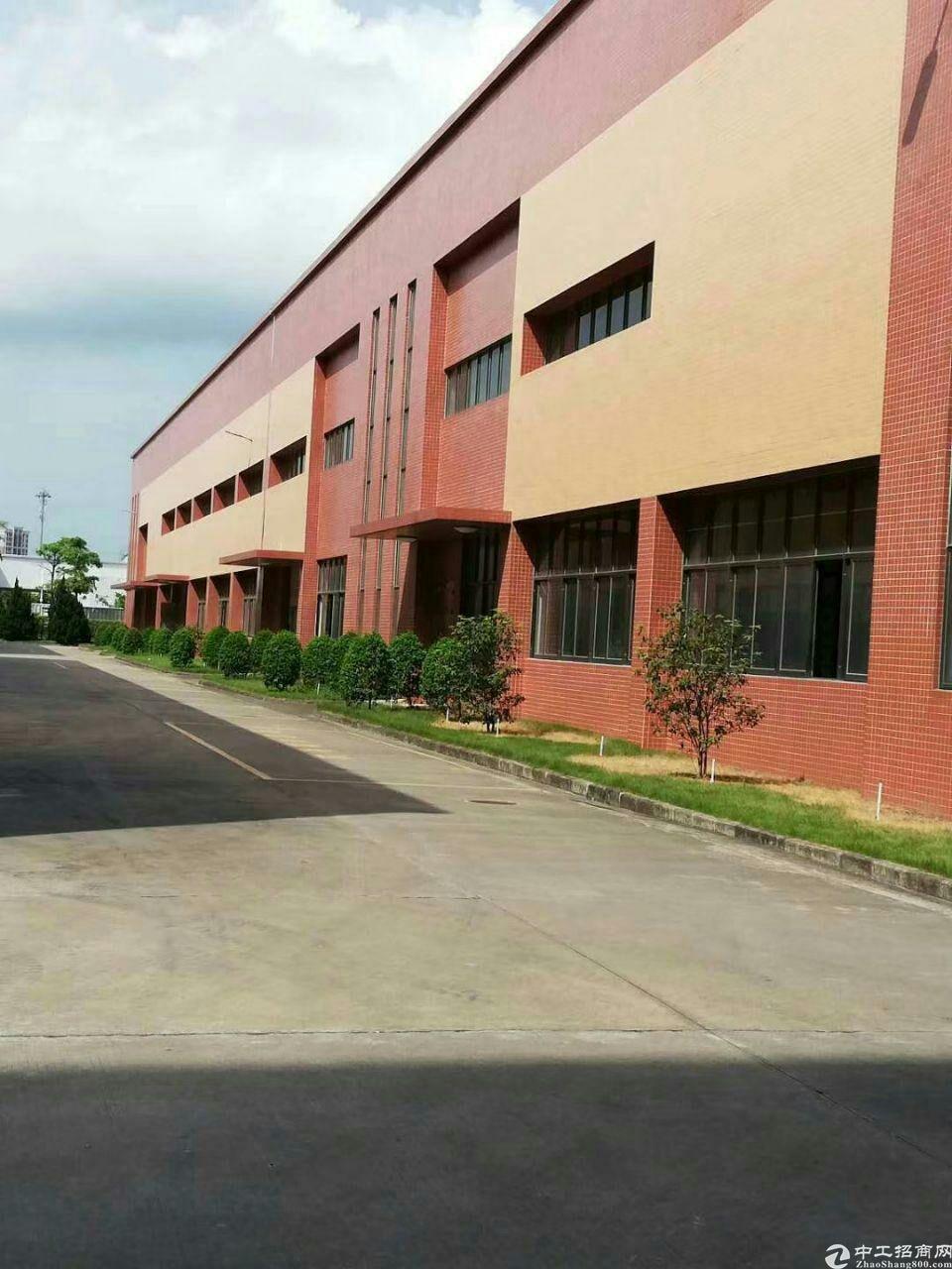 广州市黄埔区全新厂房,现房出租,可即刻搬入