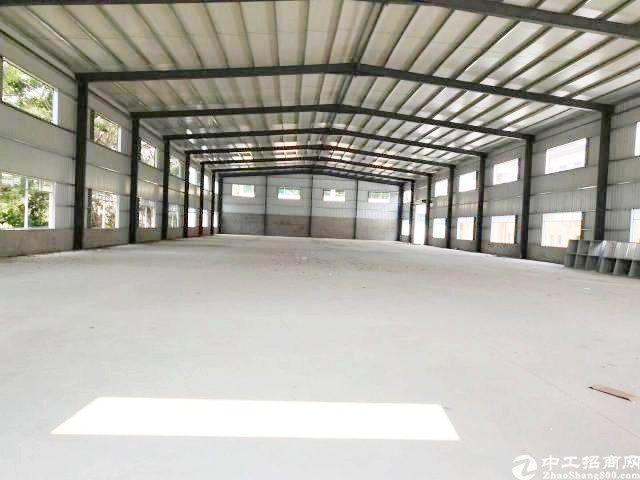 广州新塘镇银沙工业区原房东4000平出租单一层高10米独院