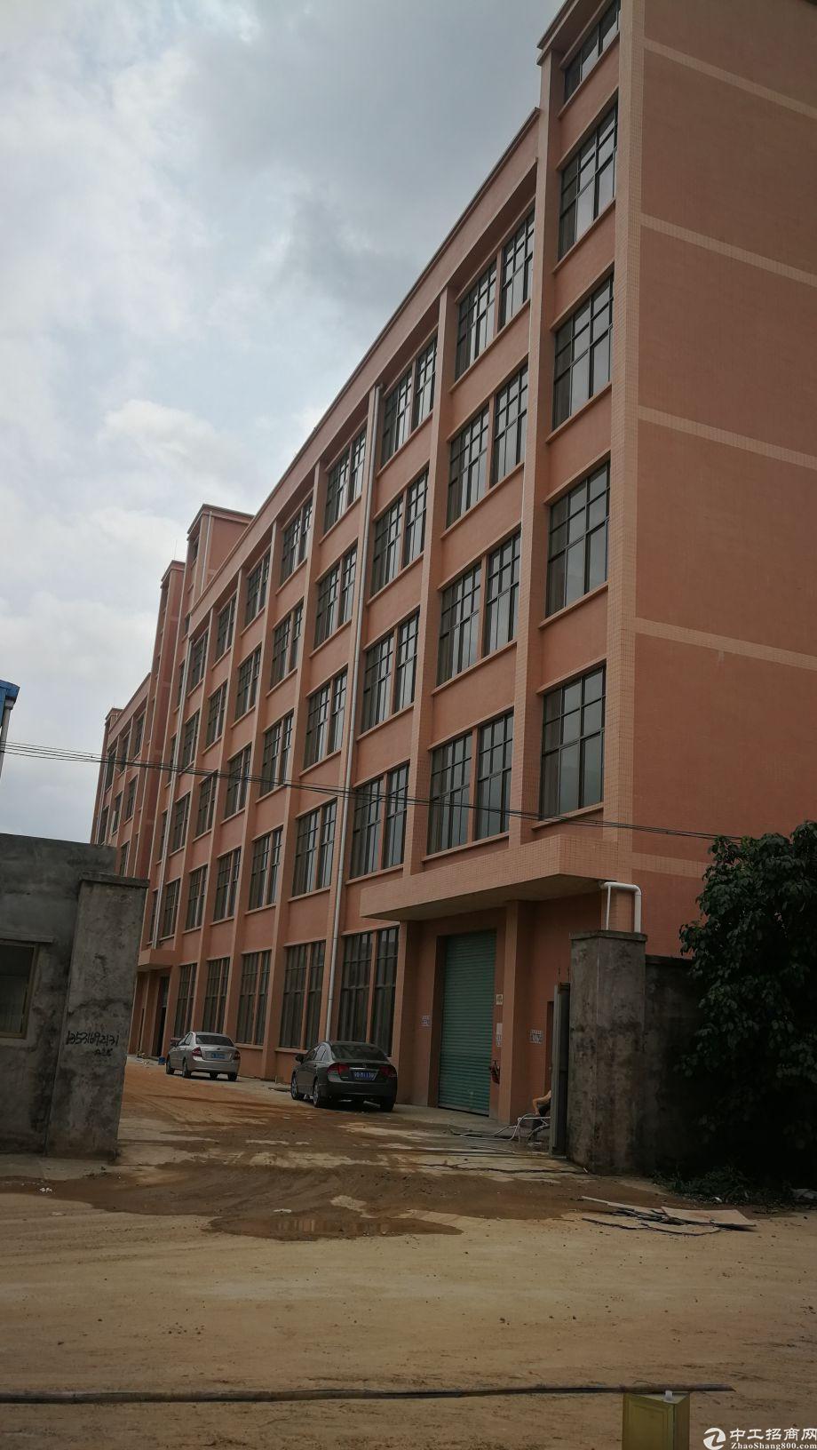 独栋标准厂房可围城独院单层面积1400平方