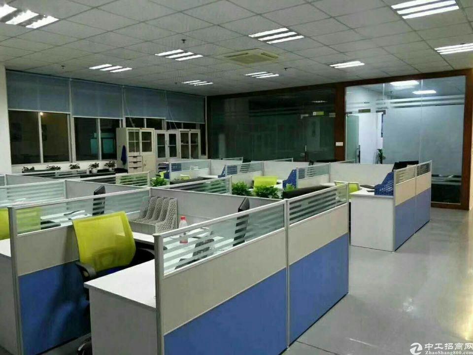 松岗高新产业园原房东三楼整层1500平精装厂房出租-图9