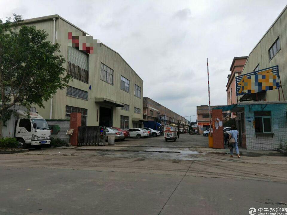 大朗靠黄江单一层厂房出租面积1600