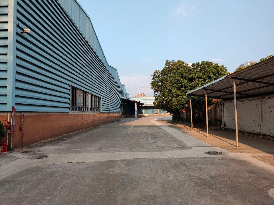 宝安大道边原房东单一层钢结构厂房16,000平方