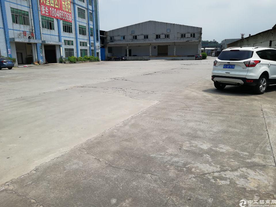 大岭山新出一楼带卸货平台3000平方仓库