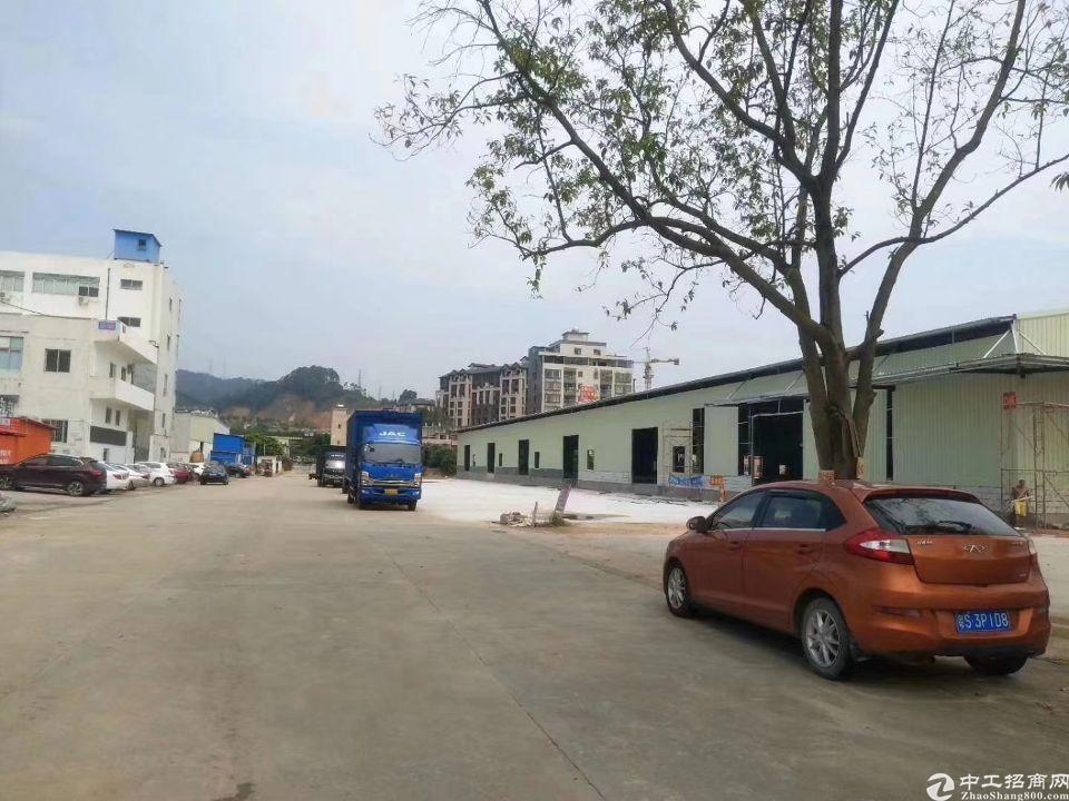 大岭山镇龙大高速公路出口附近新建物流仓库厂房出租
