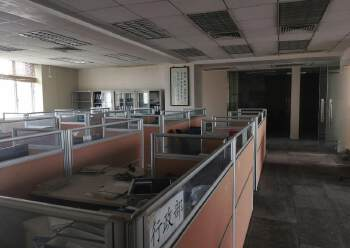 现成装修写字楼办公装修贸易研发大楼图片2