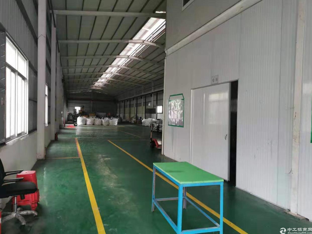 清溪紧邻凤岗单一层2000滴水9米水电齐全带现成精装修办公室-图2