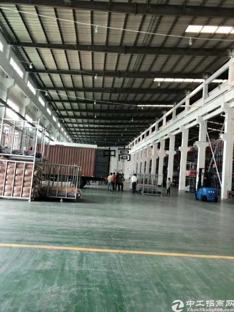 广州南站适合物流仓17780平14米高钢构单价26元-图2