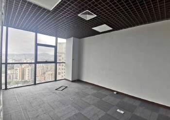 民治中心区甲级写字楼165平精装修,图片3