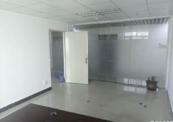 龙华汽车站精装小面积办公室出租带隔间大小都有图片1