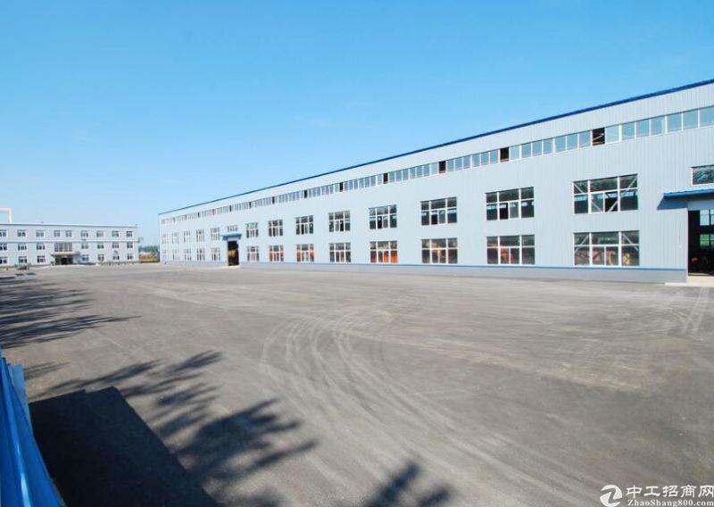 三栋镇全新独院钢构厂房9000平方