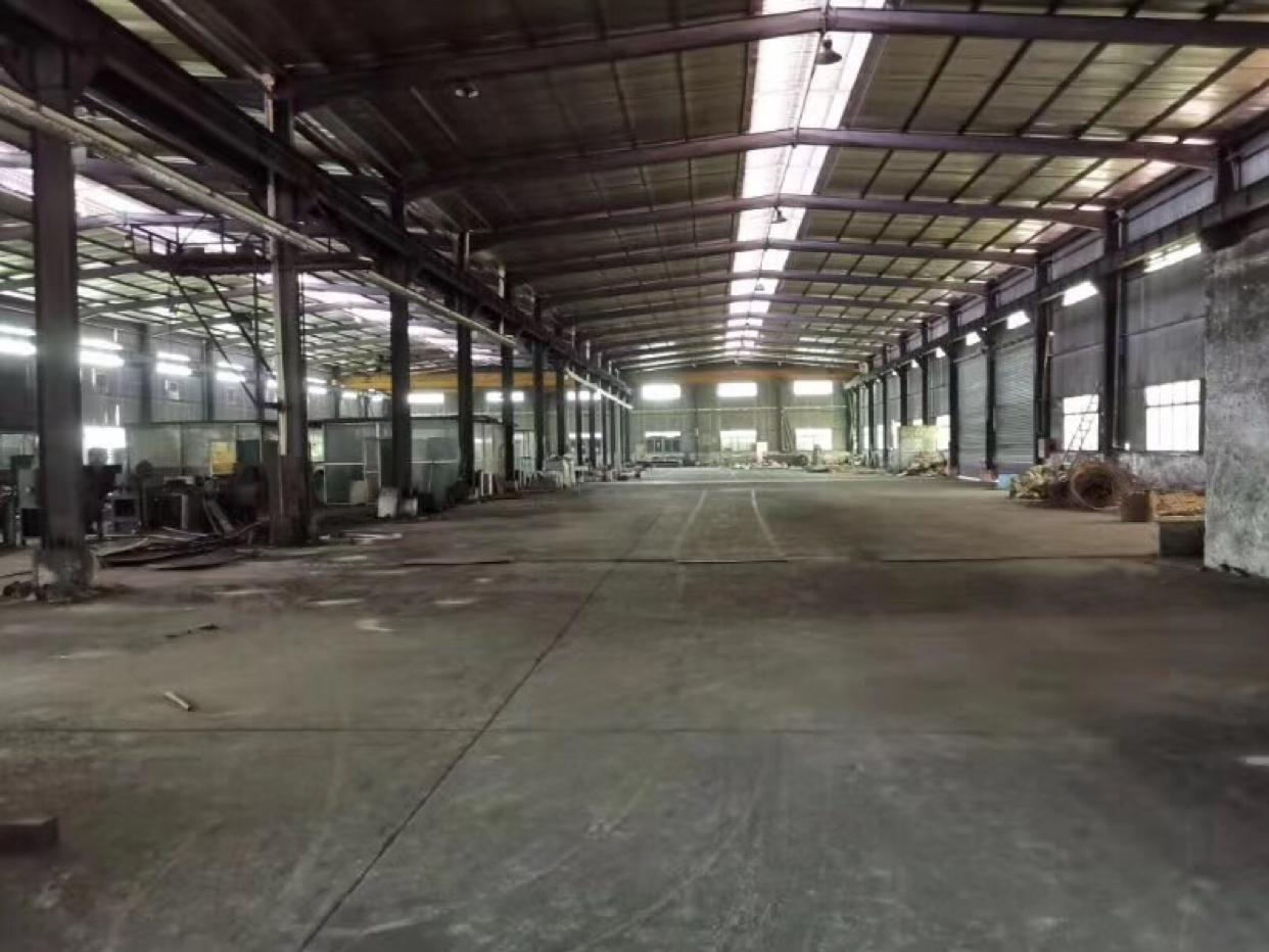 12米高钢构厂房出租4200平13块钱租金