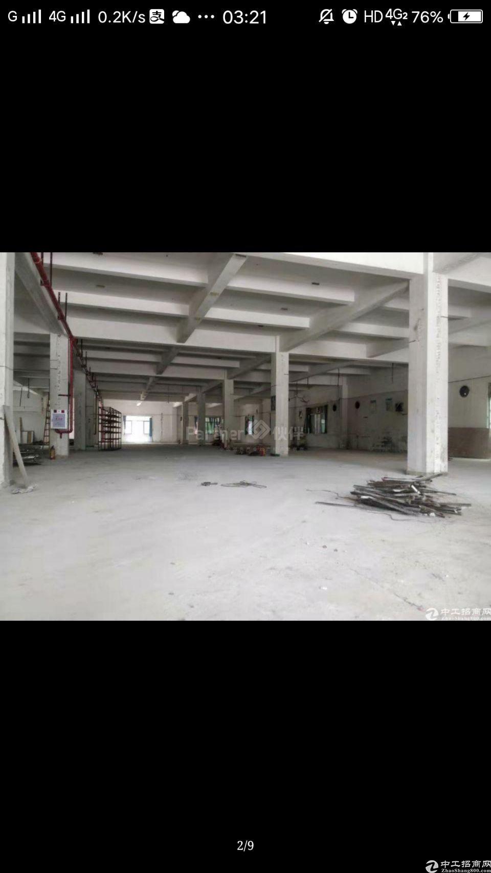 高埗镇新房面积1~3楼7650单一层550宿舍面积3300