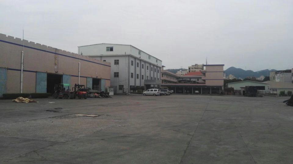 惠阳新圩高速路口附近新出钢构8000平方带现成行车跟办公室免