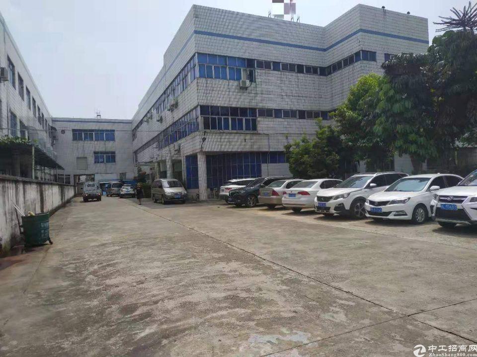 东莞横沥小独院厂房2400平宿舍300平电250
