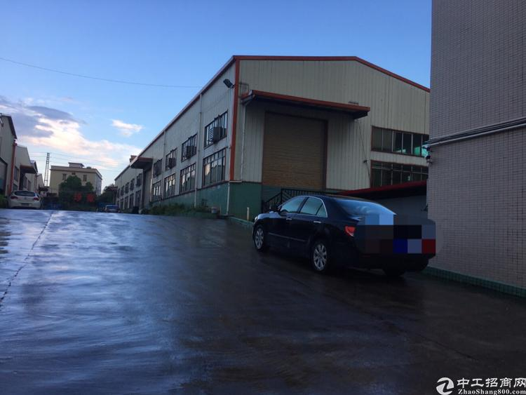 横沥镇原房东带航轨厂房出租1500平方,滴水7米高