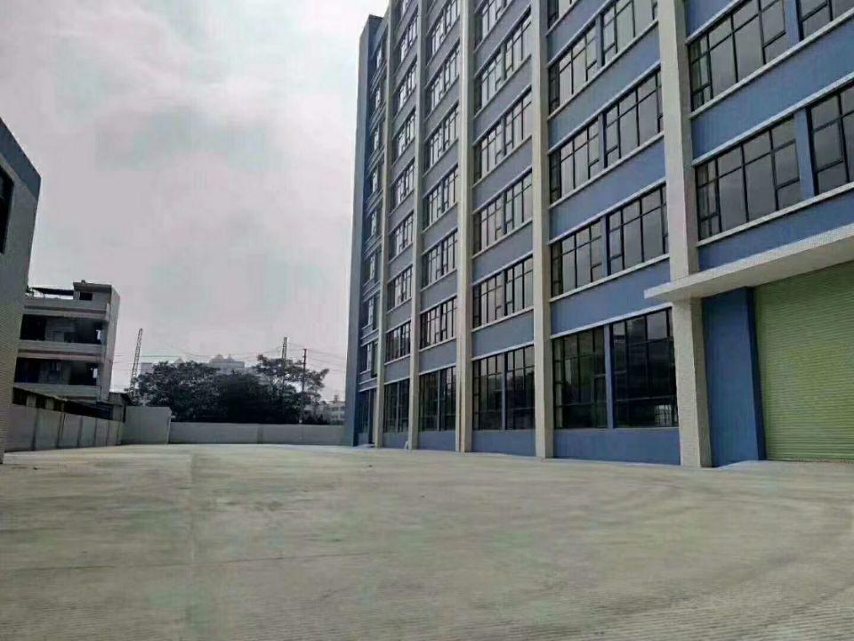 长安乌沙大润发附近全新重工业厂房9层每层3980平方大小可分
