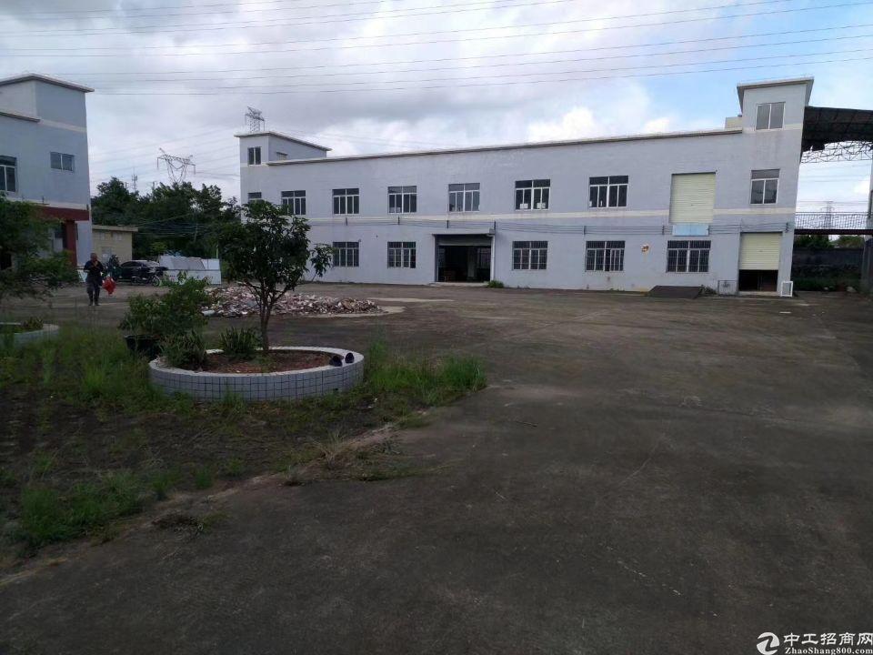 龙岗平湖丹平快速出口海吉星新出1楼1500平米厂房出租