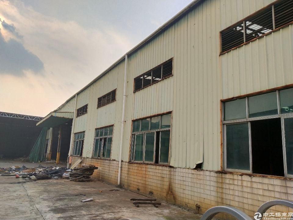 广州黄埔开发区荔联独栋滴水8米钢结构厂房1150平方出租