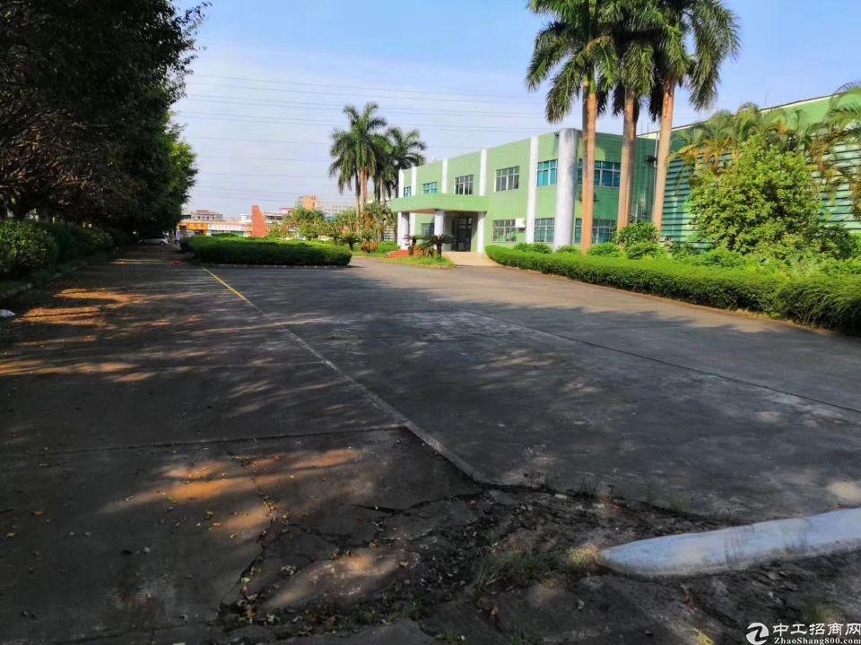 谢岗花园式单一层独院仓库厂房18000平,滴水10米