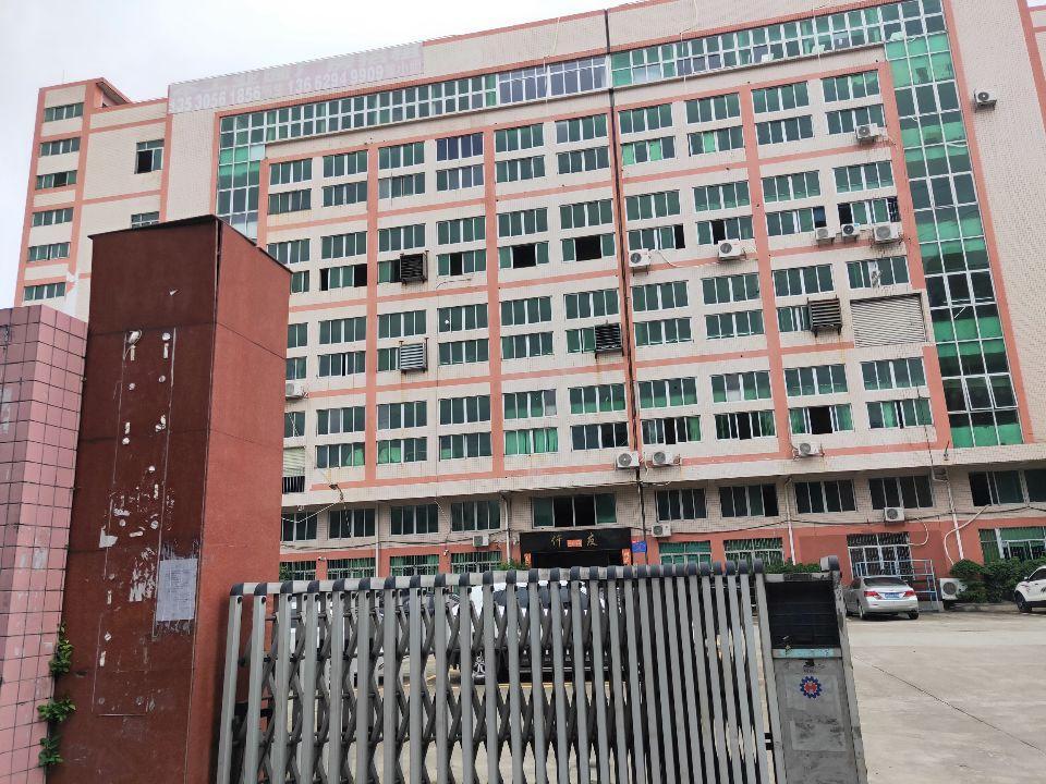 门沿江高速原房东独院标准厂房1-6层8700平实际面积