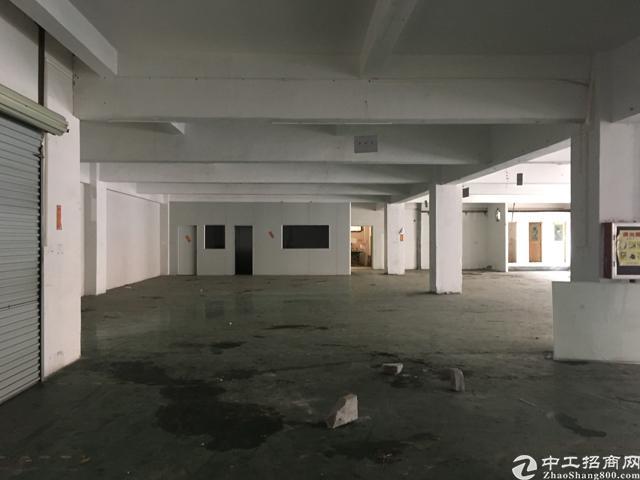 长安沙头新出楼上700平米标准厂房
