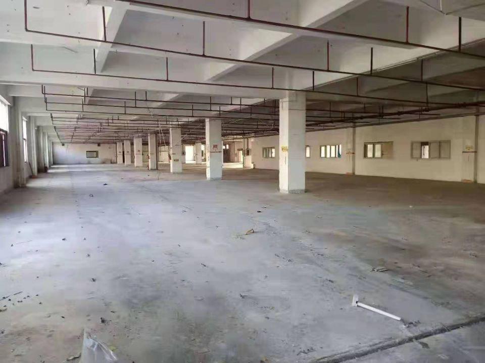 虎门镇沿江高速路口附近原房东厂房分租3楼4000平方