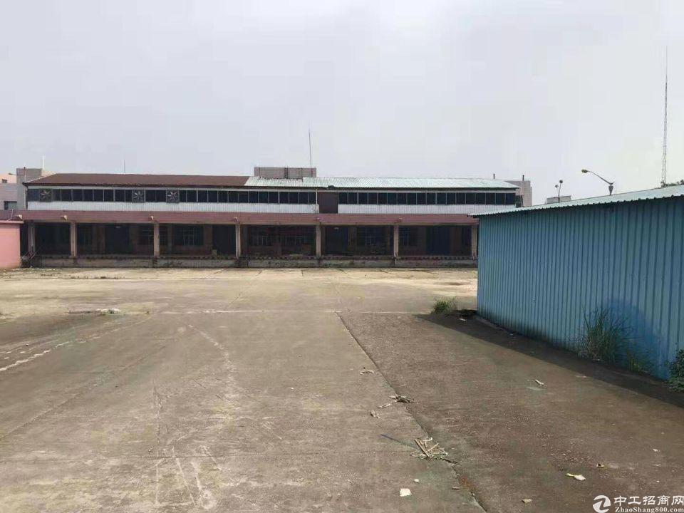 清溪国企红本厂房二层独院带卸货平台出租