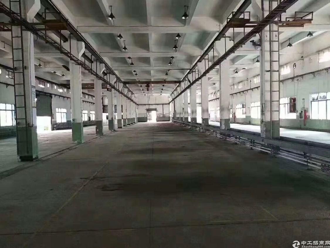 长安广深高速出口空出原房东厂房一楼3600平带卸货平台有牛角
