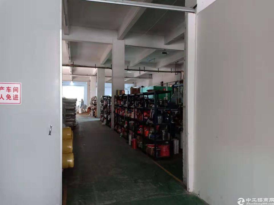 高埗镇新岀一楼厂房1750平方高度5.5米长度90米可环评