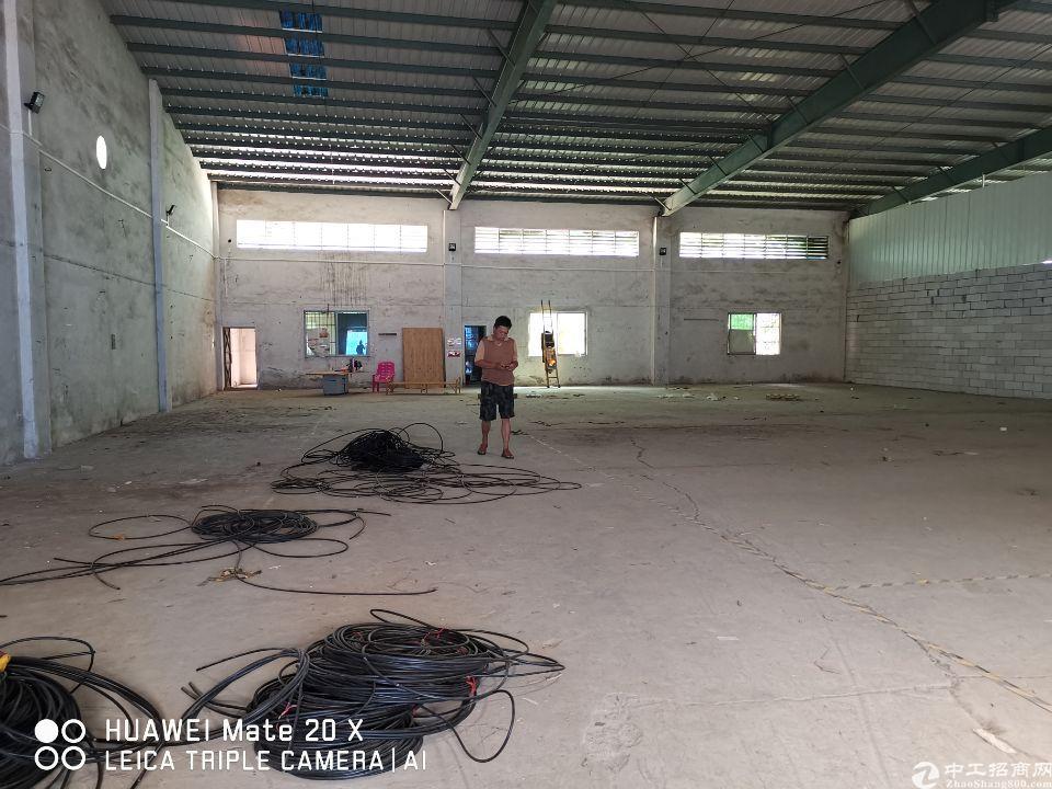 东莞万江上甲新出厂房仓库900平,原房东价格好谈,可以便宜!