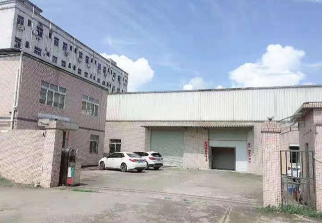 清溪镇高速口现成天然气钢构独院2680平米、可分租