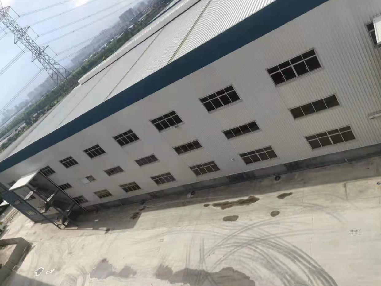 麻涌镇原房东单一层钢构厂房5000平,滴水12米招租