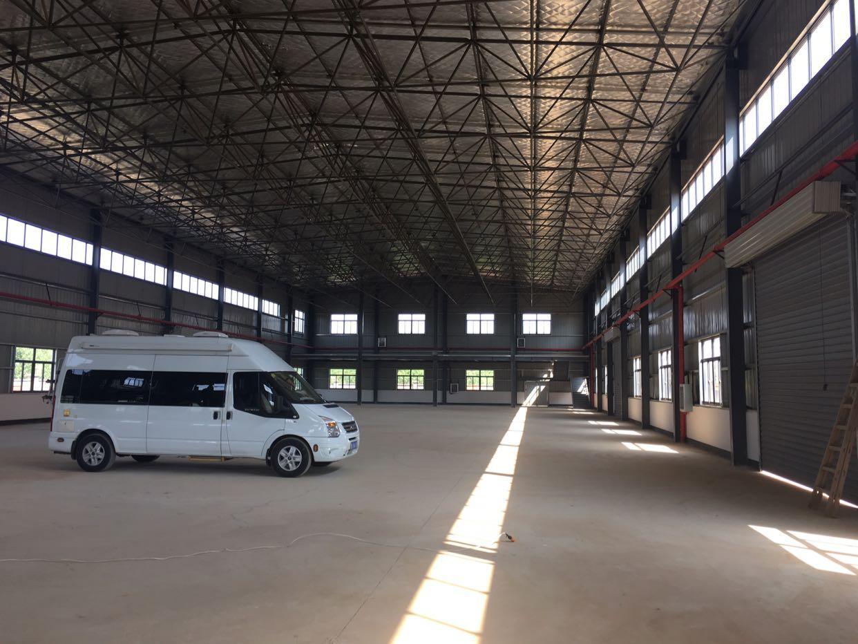 汉口北全新钢构厂房带办公楼低价出租