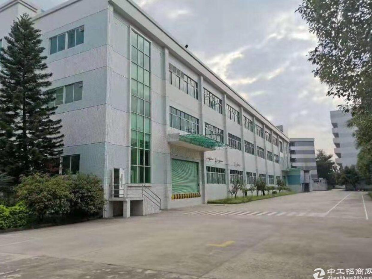 博罗县杨村镇占地20627m²建筑14989m²不动产厂房
