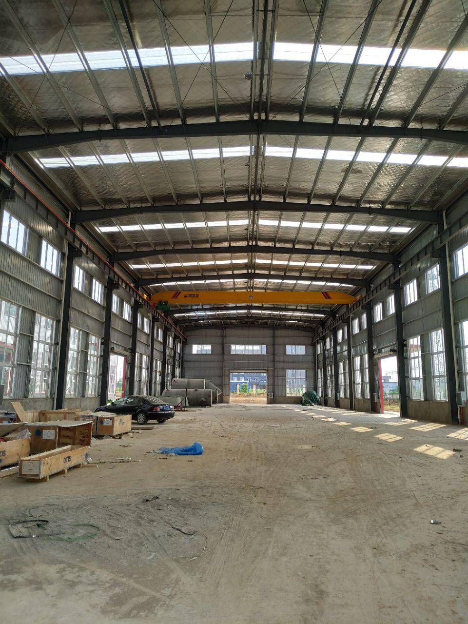 黄陂高品质钢结构厂房优惠出售、层高12米带行吊