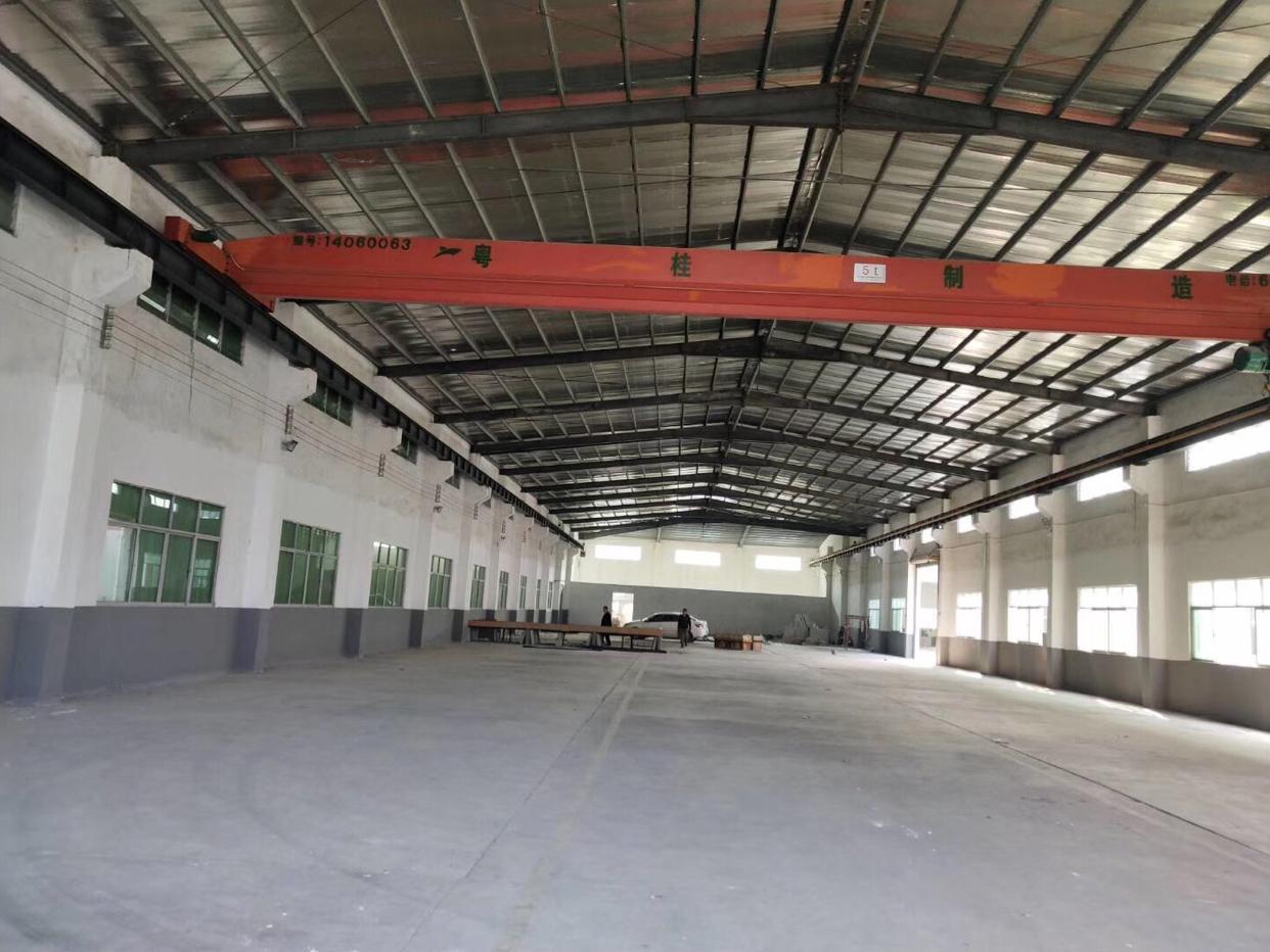惠州市博罗工业园独栋钢构单一层岀租