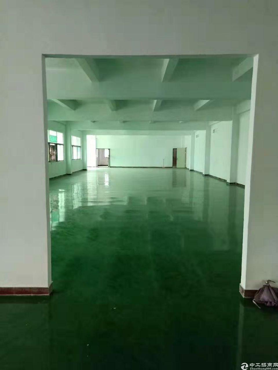 东莞长安镇厦边工业园分租一楼600㎡厂房招租