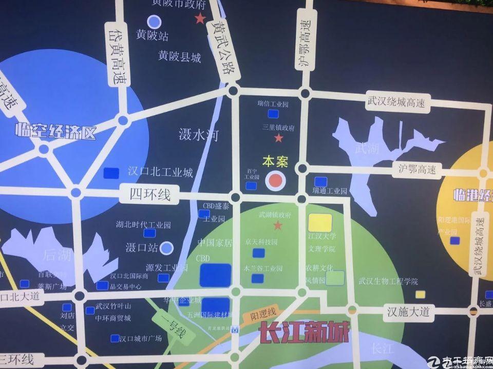 黄陂武湖,标准厂房出售,企业无入驻门槛