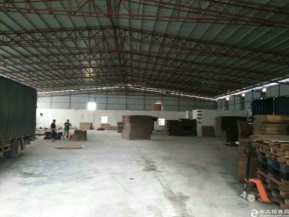 东莞市长安镇新安大桥附近新出原房东钢构厂房1000平招租