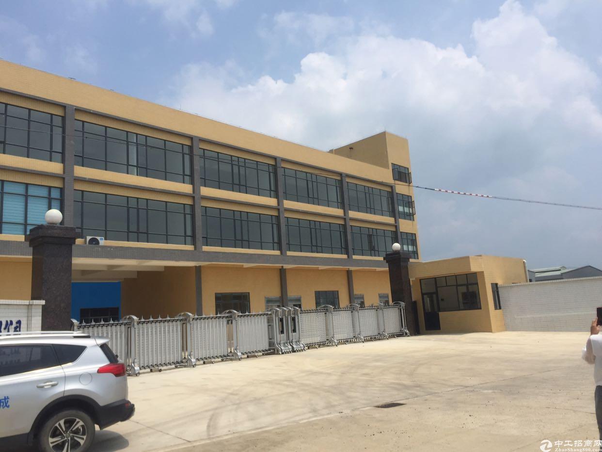 东莞标准厂房建筑12000平方,可以做两个小独院厂房价钱便宜