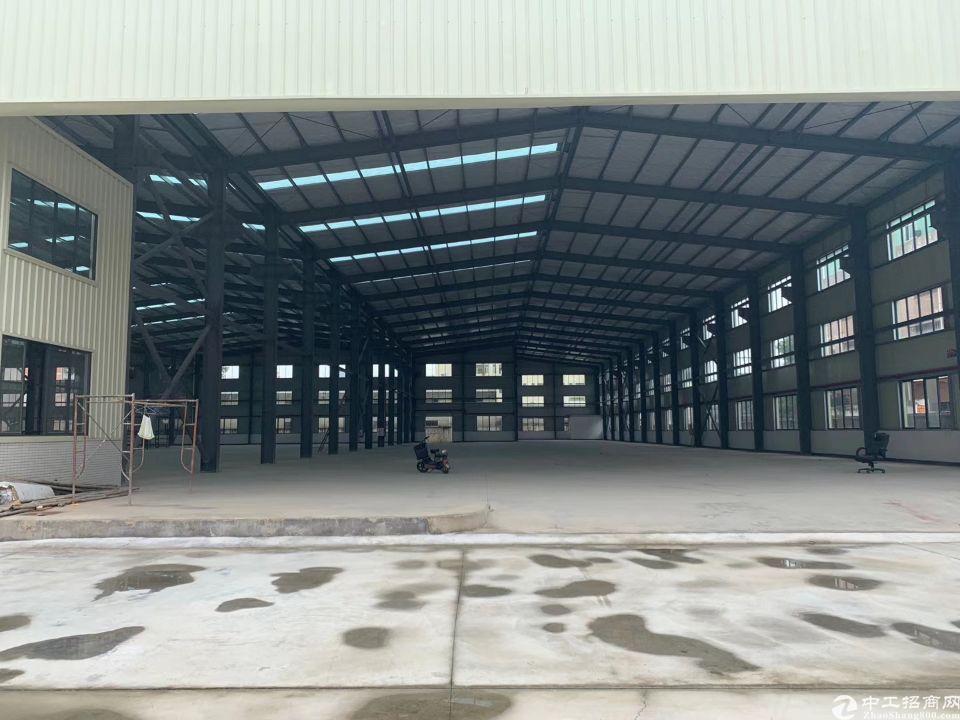茶山镇新出独院单一层厂房其中12米全新超高钢构7900平方米
