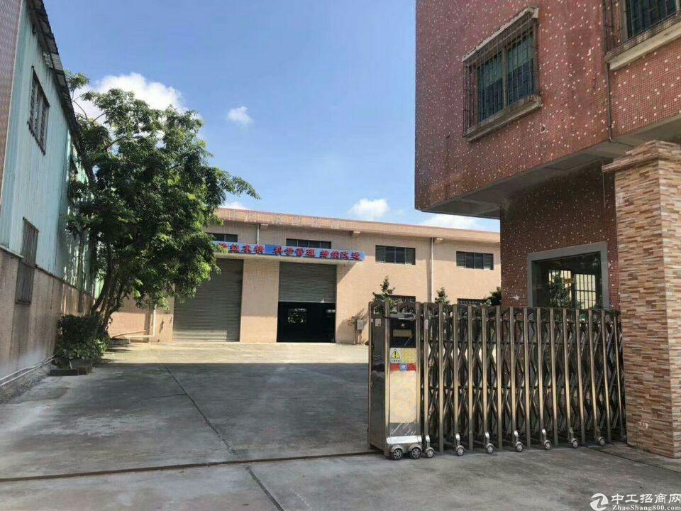 万江单一层独院厂房,厂房面积4100平米,宿舍办公1200平