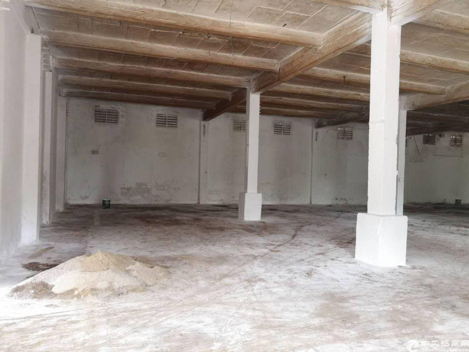 天河区珠吉吉山新出一楼标准厂房仓库1300平出租、证件齐全