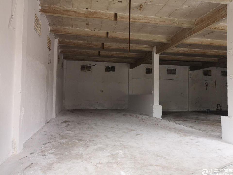 天河区珠吉吉山新出一楼标准厂房仓库1300平出租、证件齐全-图4