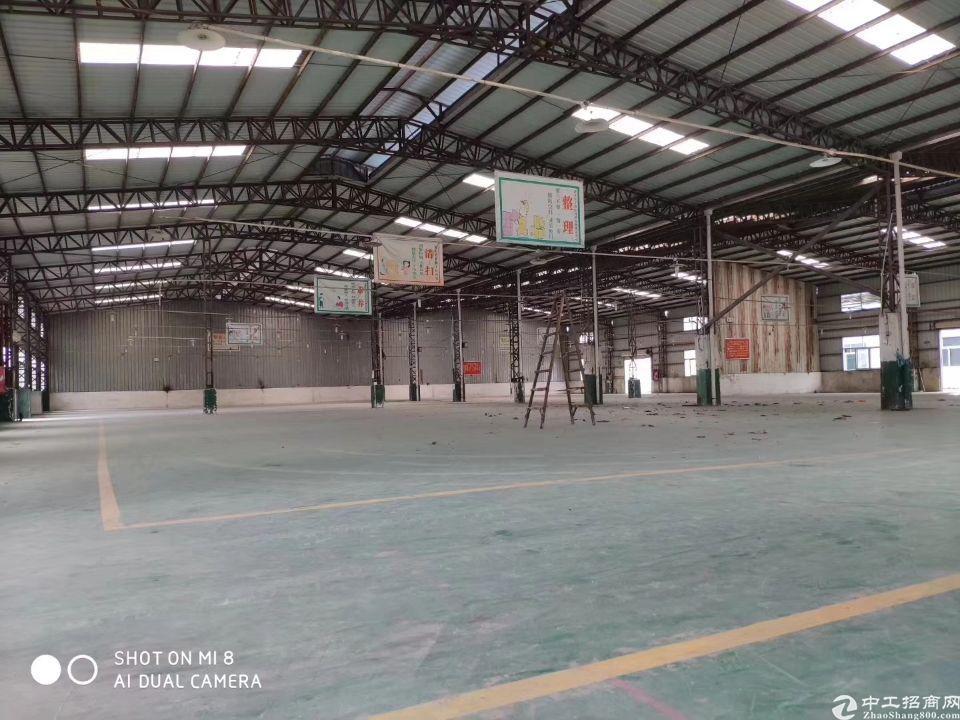 惠州大亚湾单一层钢构仓库3万平米大小可分租招租