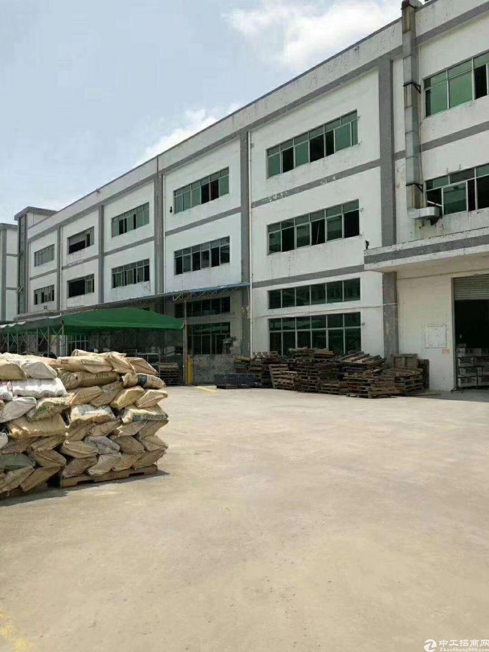 仲恺独栋厂房1到3层6200平带电梯证件齐全可分租