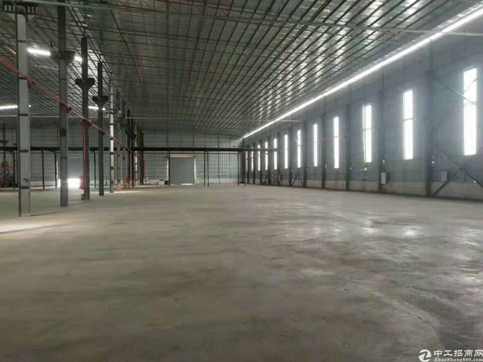 独院单一层钢构高台仓库6400方