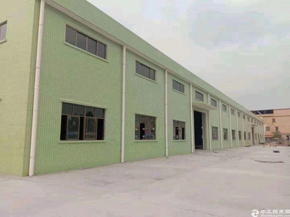 大朗镇花园式单一层独院仓库出租 厂房18000平,滴水10米