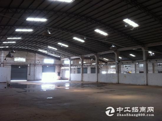 厚街镇环岗村第一工业区新出单一层滴水8米高仓库低价招租